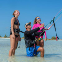 Kite lesson by KiteProvo Turks and Caicos