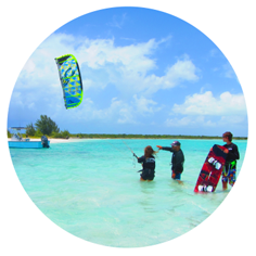 Kite lesson by KiteProvo kiteboarding school