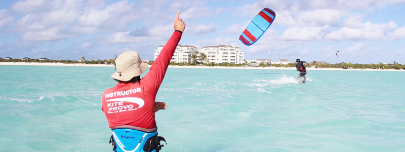 KiteProvo Kiteboarding School Turks Caicos Camp